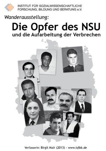"""Ausstellung mit Führung """"Die Opfer des NSU und die Aufarbeitung der Verbrechen"""""""