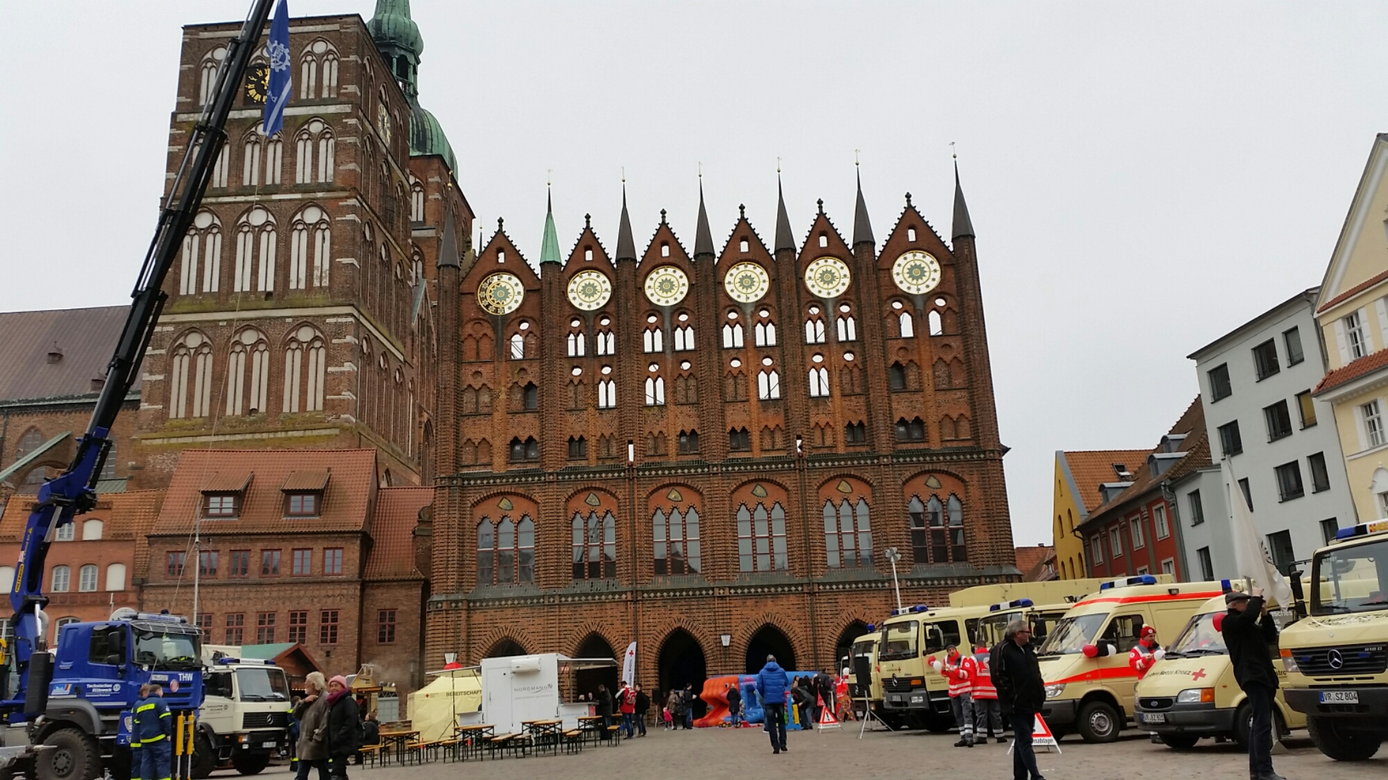 Rock gegen Rechts auf der Ehrenamtsmesse der Hansestadt Stralsund im Jahr 2016