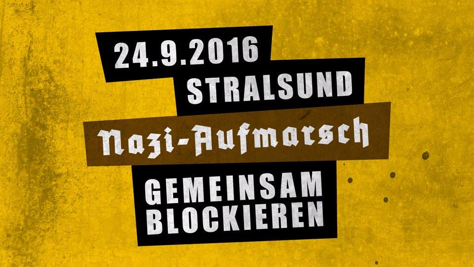 Nazis blockieren - am 24. September in Stralsund!