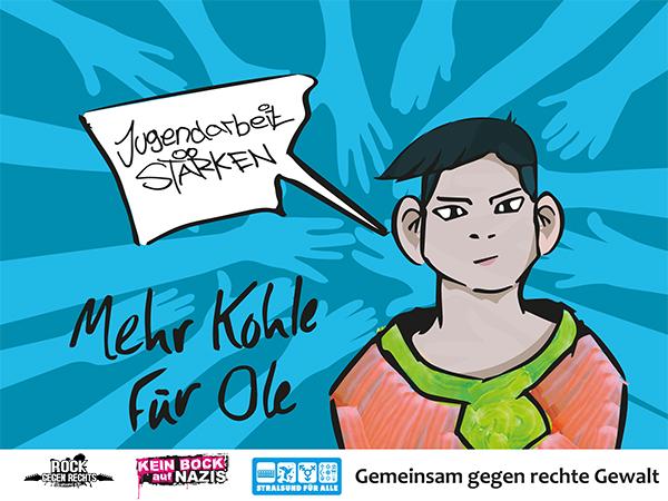 14. April Stralsund - Tag der Vielfalt: Einladung zur Demonstration und Aktionstag mit Rockkonzert